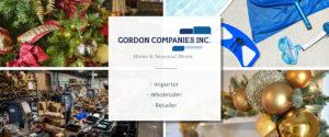 Gordon Companies Inc. | Home & Seasonal Decor | Importer, Wholesaler, Retailer